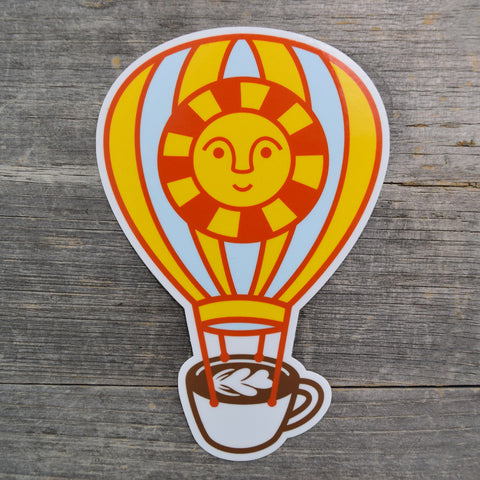 Rise And Shine Vinyl Sticker