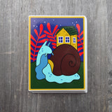 Snail Home Vinyl Sticker