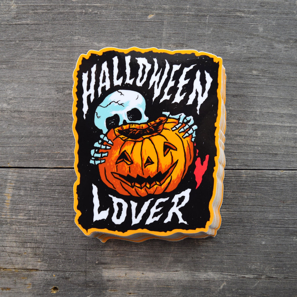 Halloween Lover Vinyl Sticker