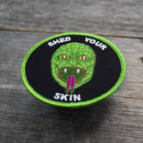 Reptilian Embroidered Patch