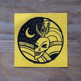 Skull/Cactus/Moon Canvas Patch