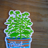 Plant Life Embroidered Patch