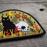 Death Won't Take Me Embroidered Patch