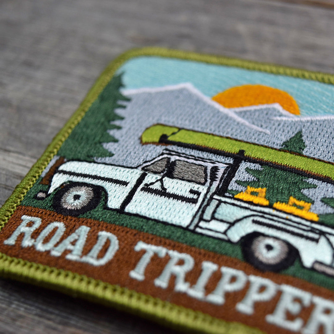 Road Tripper Embroidered Patch