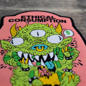 Ethical Consumption Woven Patch