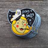 Stay Salty Embroidered Patch