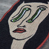Face Melt Embroidered Patch