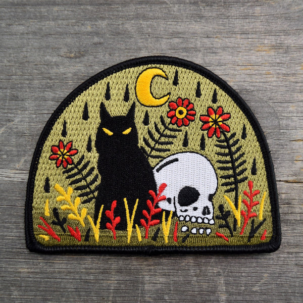 Death Wont Take Me Embroidered Patch