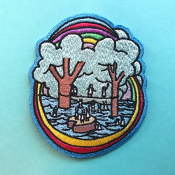 Tight Rope Embroidered Patch