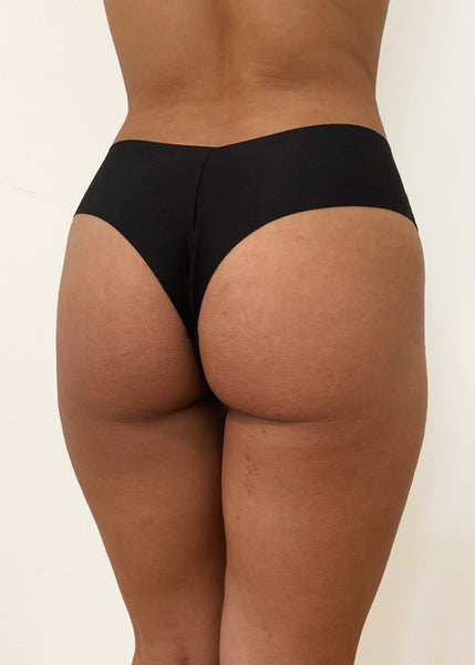 CHARCOAL BLACK - CHEEKY PANTY