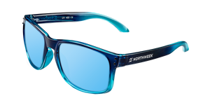 BOLD GRADIANT BRIGHT BLUE - ICE BLUE POLARIZED