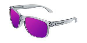 BOLD BRIGHT GREY - PURPLE POLARIZED