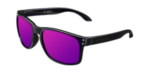 BOLD SHINE BLACK - PURPLE POLARIZED