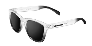 GRADIANT BRIGHT WHITE & SHINE BLACK - BLACK POLARIZED