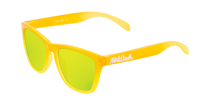 Lentes de sol polarizados Gradiant Bright Yellow - Gold Polarized