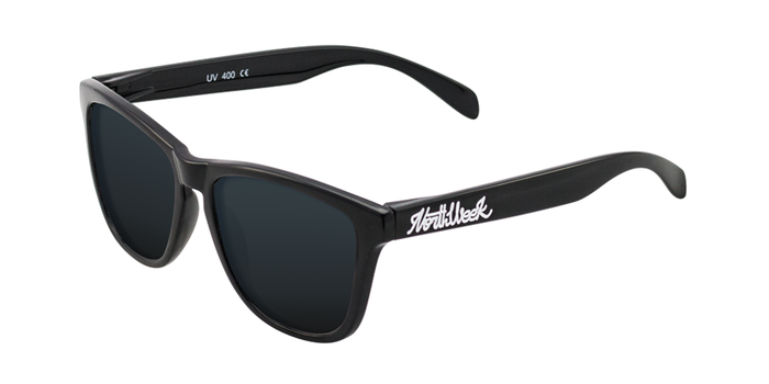 Lentes de sol polarizados Shine Black-Black Polarized