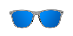 BRIGHT GREY - BLUE POLARIZED