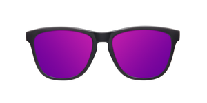 SHINE BLACK - PURPLE POLARIZED