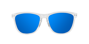 BRIGHT WHITE - BLUE POLARIZED