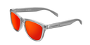 SMOKY GREY - RED POLARIZED