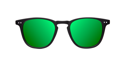 WALL MATTE BLACK - GREEN POLARIZED
