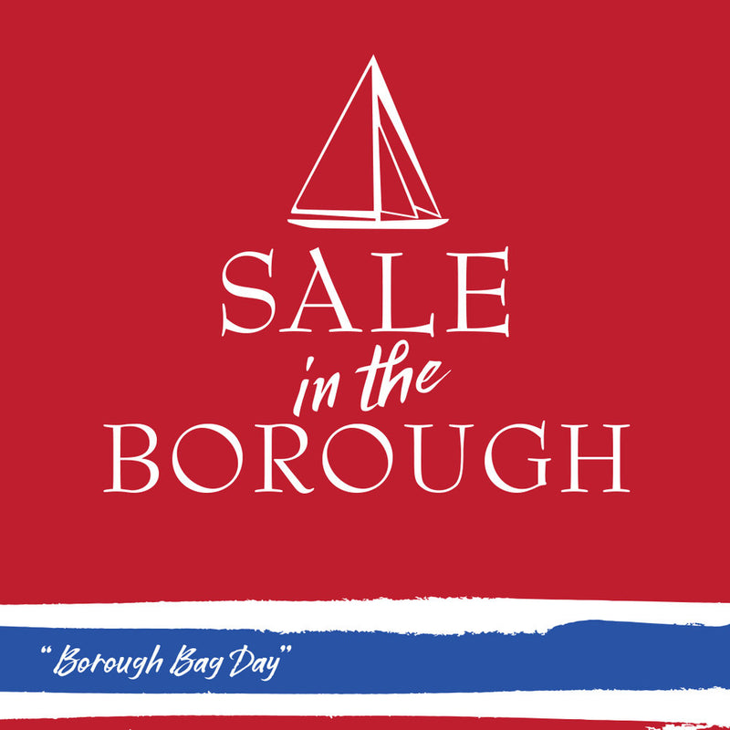 Stonington Borough Bag Weekend, Oct. 20-21  20% Off One Item