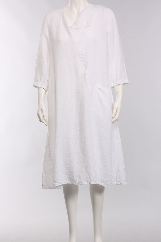 Dress Barola in White