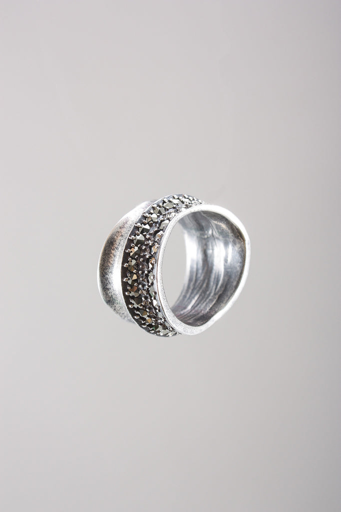 Marcasite Ring in Silver