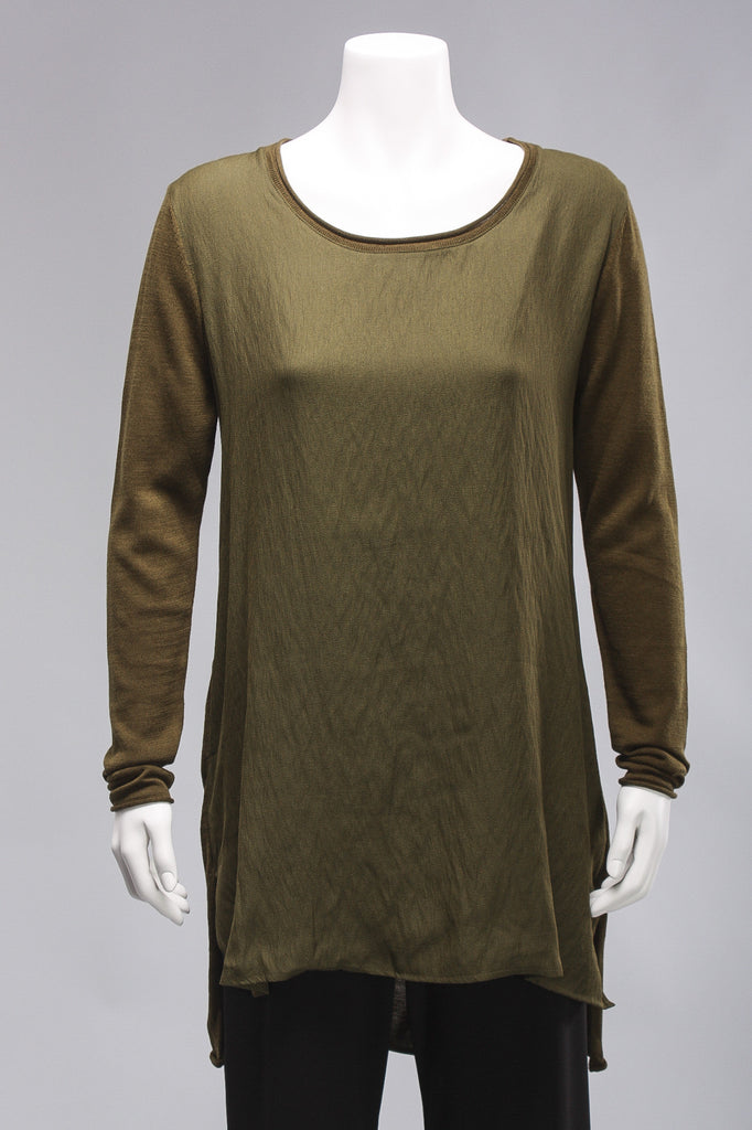 Bold Move Tunic in Fern