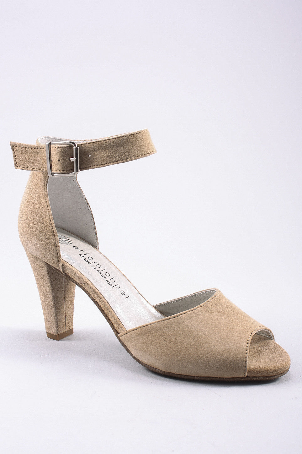 Kingston Open Toe Heel in Ice