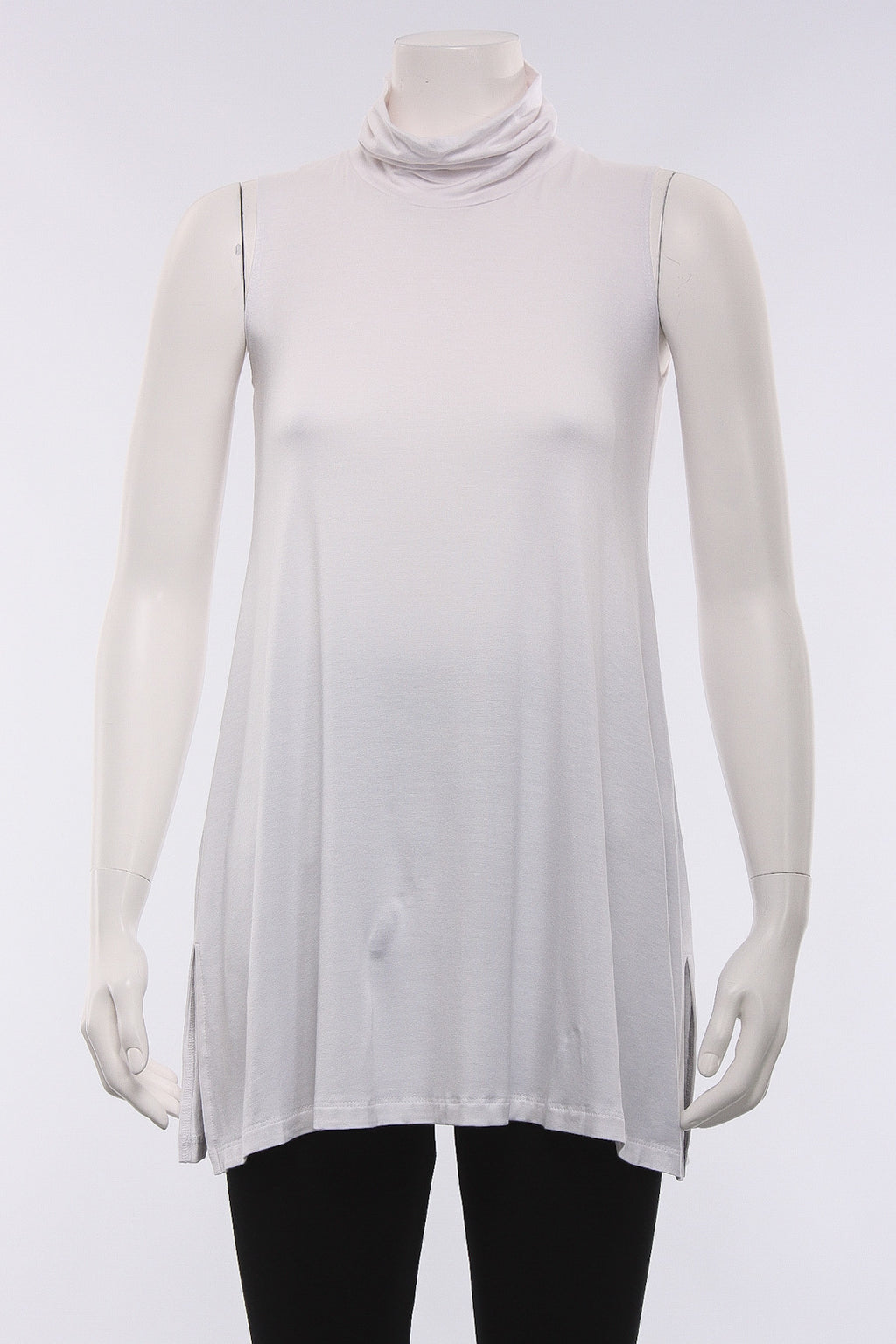Cowl Tank in White