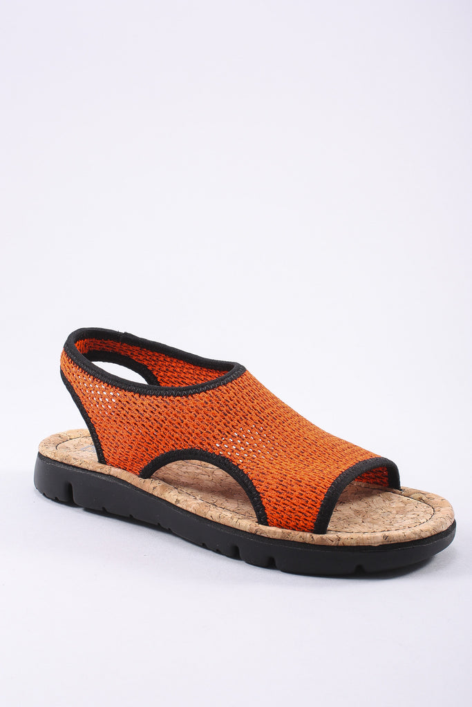 Oruga Sandal in Orange