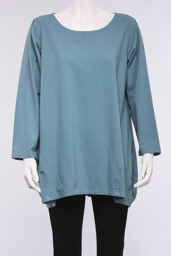 Darted Hem Tunic in Turkston