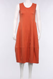 Sleeveless Princess Dress in Paprika