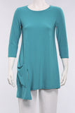 Chop Tunic in Turquoise