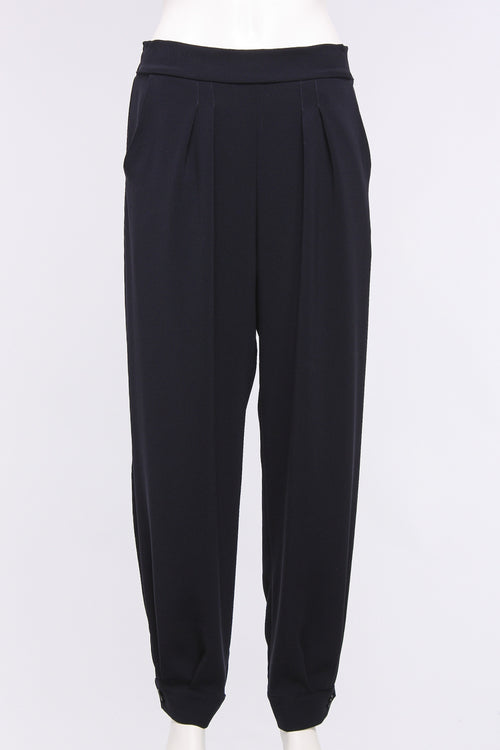 Pant With Pleat
