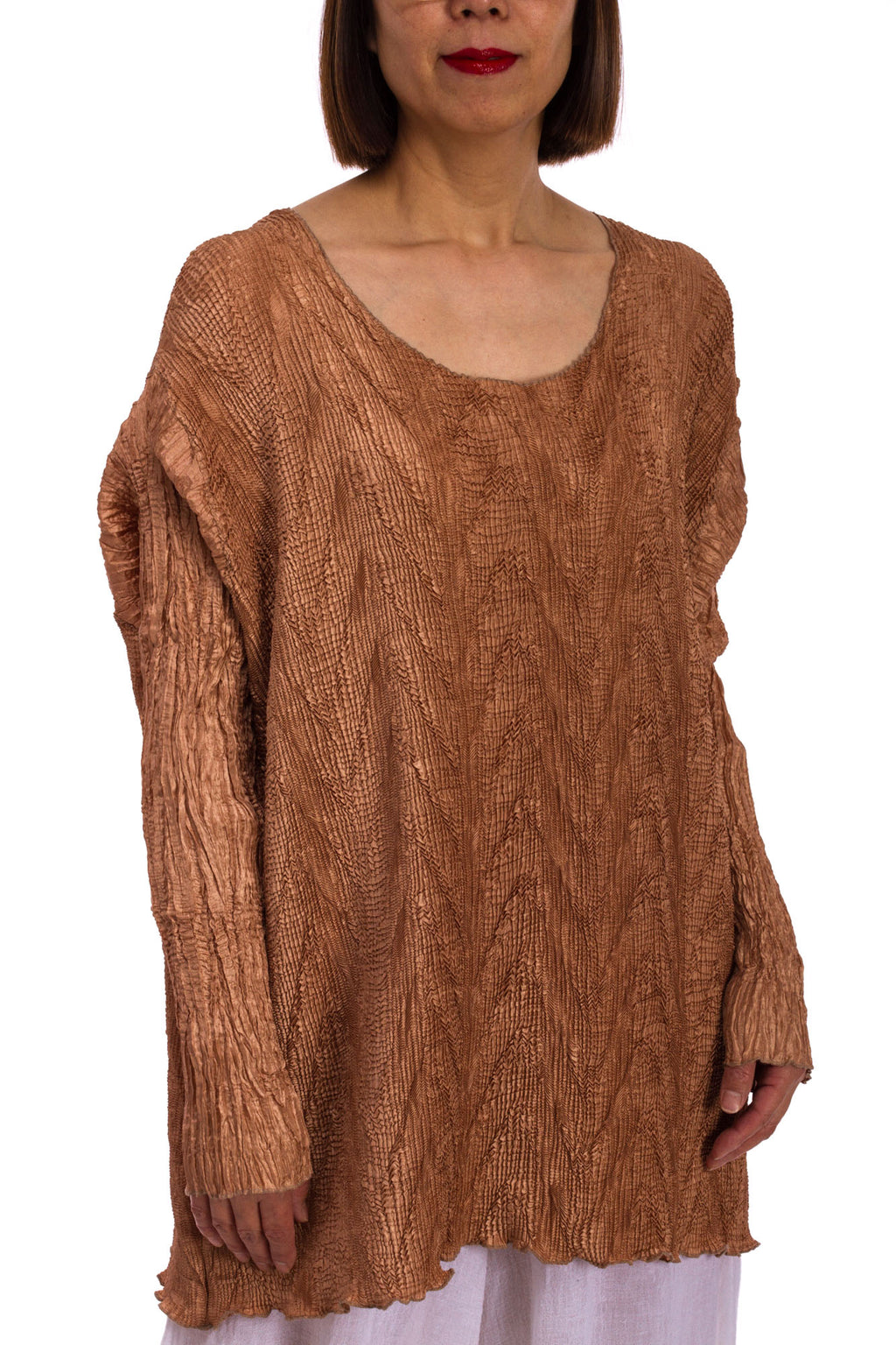 Cross Pleat Tunic