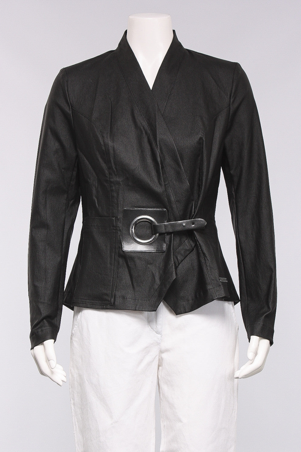 Buckle Front Jacket