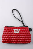 Missy Wristlet in Red