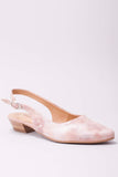 Trina Shoe in Rose Metallic