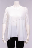 Delaware Tunic Top in White