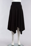 Bianca Skirt in Black Microfiber