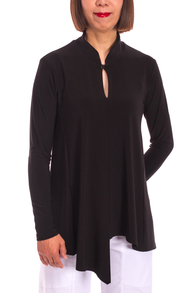 Long Sleeve Double Over Top