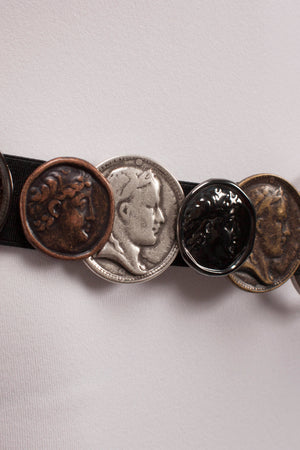 Reversible Coin/Cross Belt