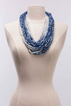 8 Strand Austrian Pashmina Necklace