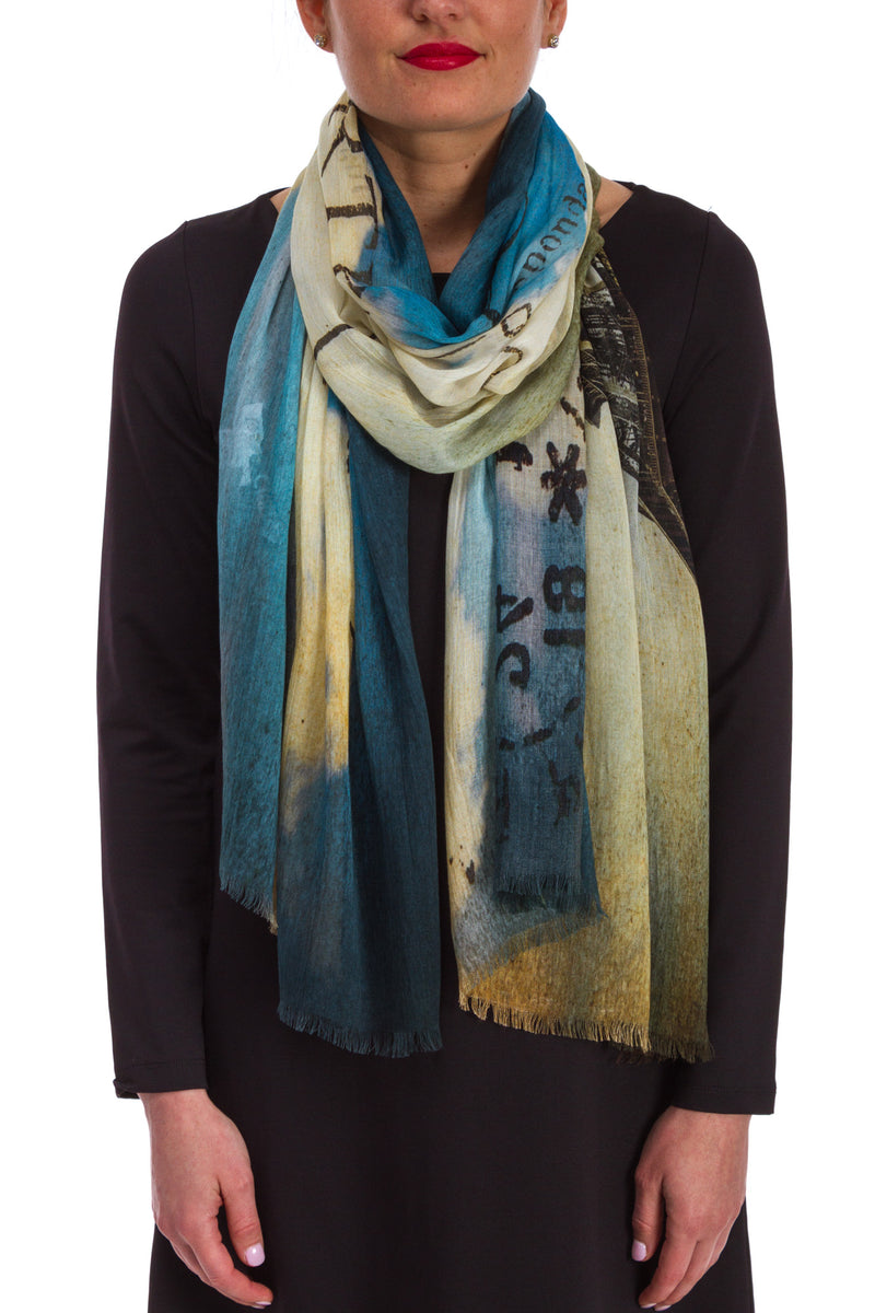 Paris Printed Scarf
