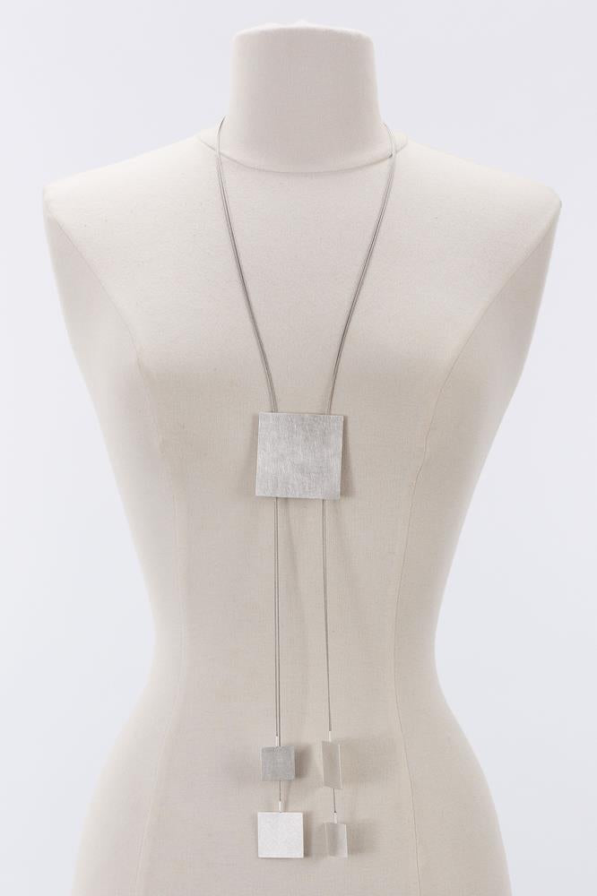 Adjustable Square Necklace
