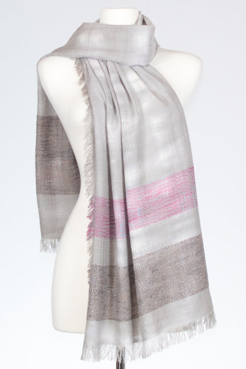 Textured Weave Cotton Scarf