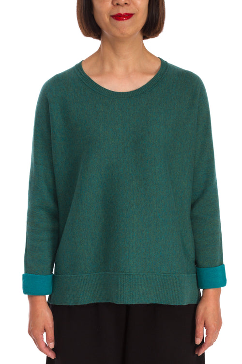 Bean Double Faced Pullover Sweater
