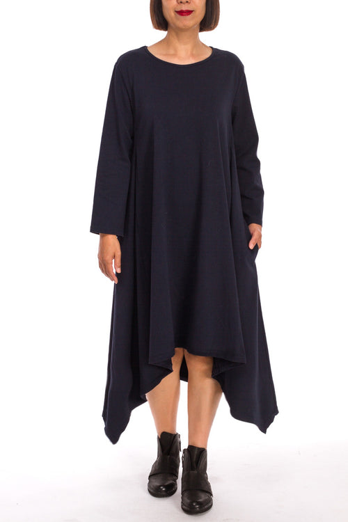 3/4 Sleeve Flyaway Dress